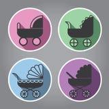 λογότυπο σχεδίου σύγχρ&omi Στοκ Φωτογραφίες