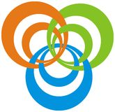 λογότυπο σύγχρονο Στοκ εικόνα με δικαίωμα ελεύθερης χρήσης