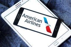 Λογότυπο της American Airlines Στοκ φωτογραφία με δικαίωμα ελεύθερης χρήσης