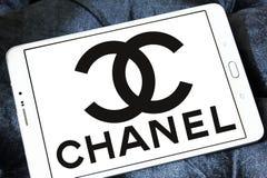 Λογότυπο της Chanel Στοκ Φωτογραφία