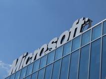 Λογότυπο της Microsoft Corporation Στοκ εικόνα με δικαίωμα ελεύθερης χρήσης