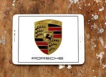 Λογότυπο της Porsche Στοκ φωτογραφία με δικαίωμα ελεύθερης χρήσης