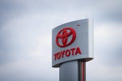 Λογότυπο της Toyota Στοκ Φωτογραφίες