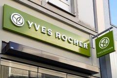 Λογότυπο της YVES ROCHER Στοκ Φωτογραφία