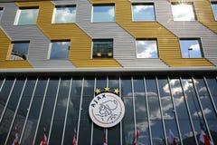 Λογότυπο του Άμστερνταμ Ajax Στοκ φωτογραφία με δικαίωμα ελεύθερης χρήσης