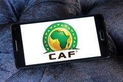 Λογότυπο του CAF Στοκ φωτογραφία με δικαίωμα ελεύθερης χρήσης