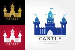 Λογότυπο του Castle Στοκ Εικόνες