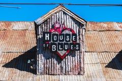 Λογότυπο του House of Blues Στοκ φωτογραφία με δικαίωμα ελεύθερης χρήσης