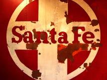 Λογότυπο τραίνων Σάντα Φε στοκ εικόνες με δικαίωμα ελεύθερης χρήσης