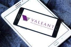 Λογότυπο φαρμακοβιομηχανίας Valeant στοκ φωτογραφίες