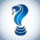 Λογότυπο φιδιών Στοκ φωτογραφίες με δικαίωμα ελεύθερης χρήσης
