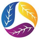 λογότυπο φύλλων Στοκ φωτογραφίες με δικαίωμα ελεύθερης χρήσης