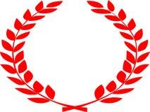 Λογότυπο φύλλων με τη διπλή δευτερεύουσα καμπύλη Στοκ Εικόνες