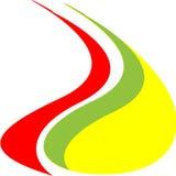 Λογότυπο φλογών στοκ φωτογραφία με δικαίωμα ελεύθερης χρήσης