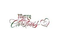 Λογότυπο Χριστουγέννων διανυσματική απεικόνιση