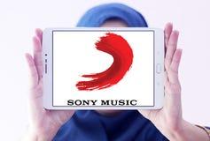 Λογότυπο ψυχαγωγίας της Sony Music Στοκ Φωτογραφίες