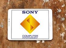 Λογότυπο ψυχαγωγίας υπολογιστών της Sony Στοκ φωτογραφίες με δικαίωμα ελεύθερης χρήσης
