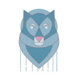 Λογότυπο λύκων Στοκ Εικόνα