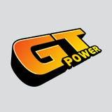 Λογότυπο δύναμης της GT Στοκ εικόνα με δικαίωμα ελεύθερης χρήσης
