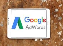 Λογότυπο AdWords Google Στοκ Εικόνες