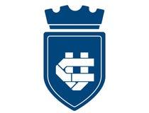 Λογότυπο Araldic Στοκ φωτογραφίες με δικαίωμα ελεύθερης χρήσης