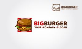 Λογότυπο BigBurger ελεύθερη απεικόνιση δικαιώματος