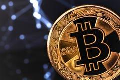 Λογότυπο Bitcoin στοκ εικόνα