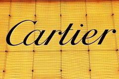 Λογότυπο Cartier στοκ φωτογραφίες με δικαίωμα ελεύθερης χρήσης