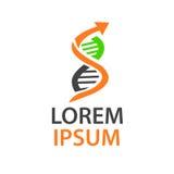 Λογότυπο DNA Στοκ φωτογραφία με δικαίωμα ελεύθερης χρήσης
