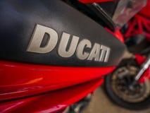Λογότυπο Ducati Στοκ φωτογραφίες με δικαίωμα ελεύθερης χρήσης