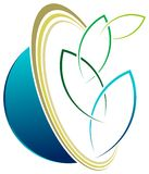 Λογότυπο Eco Στοκ φωτογραφία με δικαίωμα ελεύθερης χρήσης