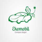Λογότυπο Ekomobil διανυσματική απεικόνιση