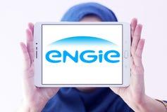 Λογότυπο Engie Στοκ φωτογραφίες με δικαίωμα ελεύθερης χρήσης