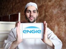 Λογότυπο Engie Στοκ φωτογραφία με δικαίωμα ελεύθερης χρήσης