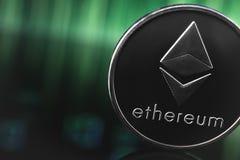 Λογότυπο Ethereum στοκ φωτογραφία με δικαίωμα ελεύθερης χρήσης
