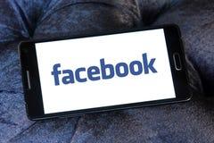 Λογότυπο Facebook Στοκ εικόνες με δικαίωμα ελεύθερης χρήσης