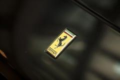 λογότυπο ferrari Στοκ Φωτογραφία