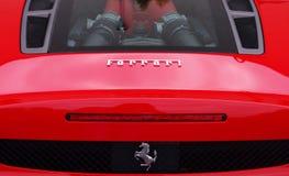 Λογότυπο Ferrari Στοκ φωτογραφία με δικαίωμα ελεύθερης χρήσης