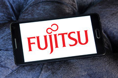 Λογότυπο Fujitsu Στοκ Φωτογραφίες
