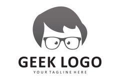 Λογότυπο Geek Στοκ φωτογραφίες με δικαίωμα ελεύθερης χρήσης