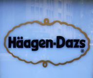 Λογότυπο haagen-Dazs Στοκ Εικόνες