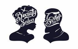 Λογότυπο Hairstyle Στοκ Φωτογραφίες