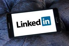 Λογότυπο Linkedin Στοκ Εικόνες