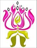 Λογότυπο Lotus Στοκ φωτογραφία με δικαίωμα ελεύθερης χρήσης