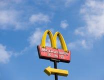 Λογότυπο McDonalds Στοκ εικόνα με δικαίωμα ελεύθερης χρήσης