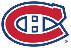 Λογότυπο NHL του Μόντρεαλ Canadiens Στοκ Εικόνες