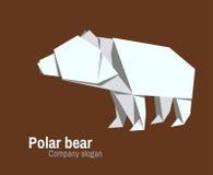 Λογότυπο Orvhami με τη πολική αρκούδα Στοκ Φωτογραφία