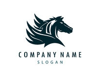 Λογότυπο Pegasus Στοκ εικόνα με δικαίωμα ελεύθερης χρήσης