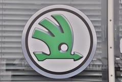 Λογότυπο Skoda Στοκ εικόνα με δικαίωμα ελεύθερης χρήσης