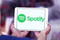 Λογότυπο Spotify Στοκ φωτογραφίες με δικαίωμα ελεύθερης χρήσης